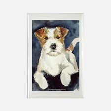 Jack Russell Terrier 2 Rectangle Magnet