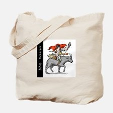 BBQ Warrior Tote Bag