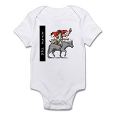 BBQ Warrior Infant Bodysuit