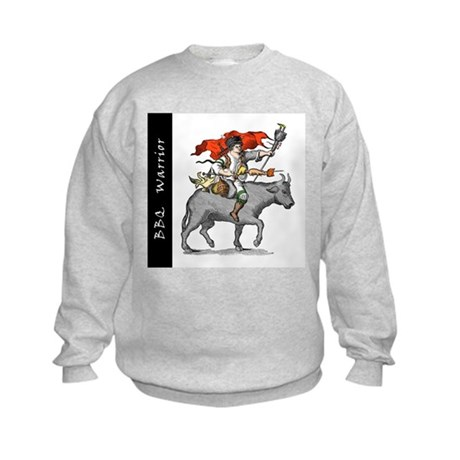 BBQ Warrior Kids Sweatshirt