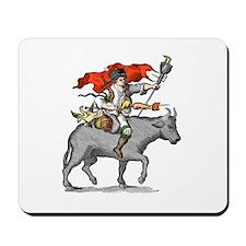BBQ Warrior Mousepad