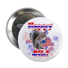 """4th of July 2.25"""" Button"""