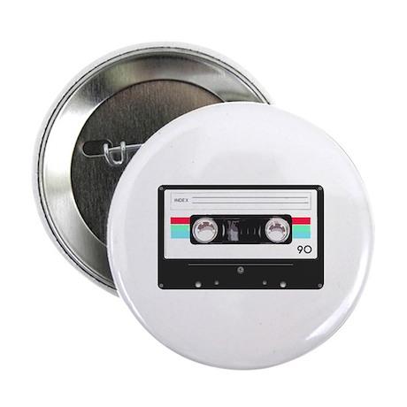"Cassette tape 2.25"" Button (100 pack)"