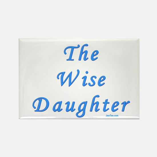 The Wise Daughter Passover Rectangle Magnet