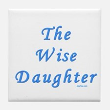 The Wise Daughter Passover Tile Coaster