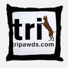 Tri Nation Throw Pillow