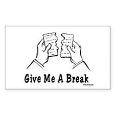 Give Me A Break Passover Decal