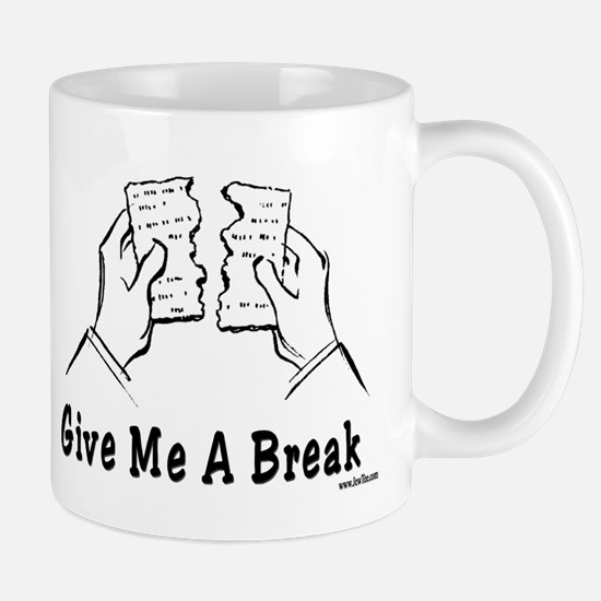 Give Me A Break Passover Mug