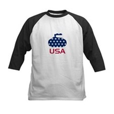 USA curling Tee