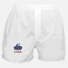 USA curling Boxer Shorts