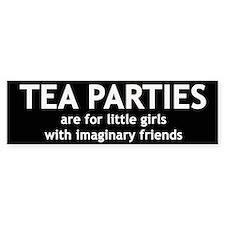 Tea Parties Bumper Bumper Sticker