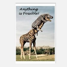 Anything is possible Postcards (Package of 8)