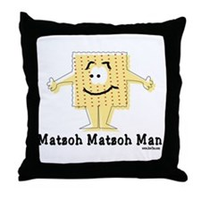 Matzoh Man Passover Throw Pillow