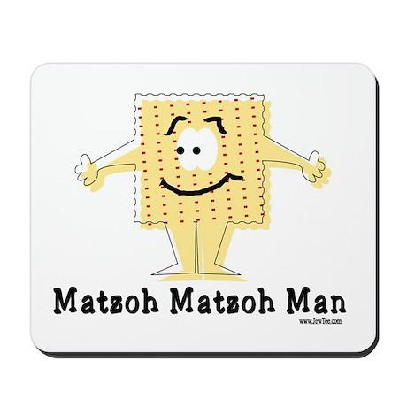 Matzoh Man Passover Mousepad