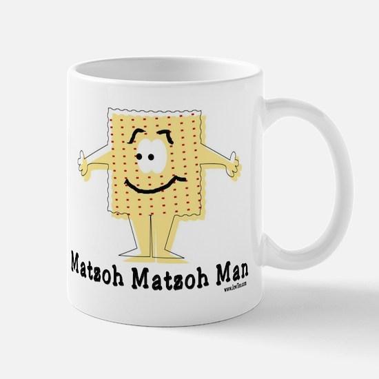 Matzoh Man Passover Mug