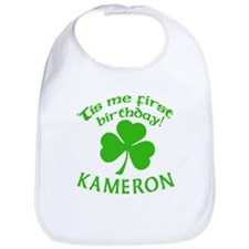 Personalized for Kameron Bib