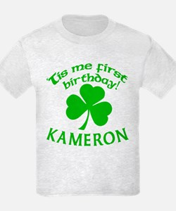 Personalized for Kameron T-Shirt