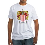 Ayriss coat of Arms Fitted T-Shirt