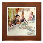 MAD HATTER'S TEA PARTY Framed Tile