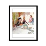 MAD HATTER'S TEA PARTY Framed Panel Print