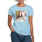 MAD HATTER'S TEA PARTY Women's Light T-Shirt