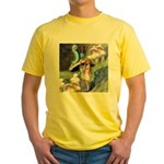 ADVICE FROM A CATERPILLAR Yellow T-Shirt