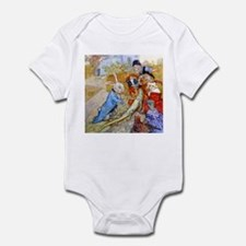 THE RABBIT SENDS IN A BILL Infant Bodysuit