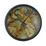 THE CAUCUS RACE Large Wall Clock