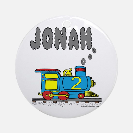 Jonah Train Ornament (Round)