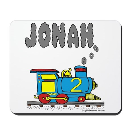 Jonah Train Mousepad