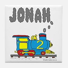 Jonah Train Tile Coaster