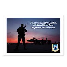 Defenders of Freedom Postcards (Package of 8)