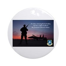 Defenders of Freedom Ornament (Round)