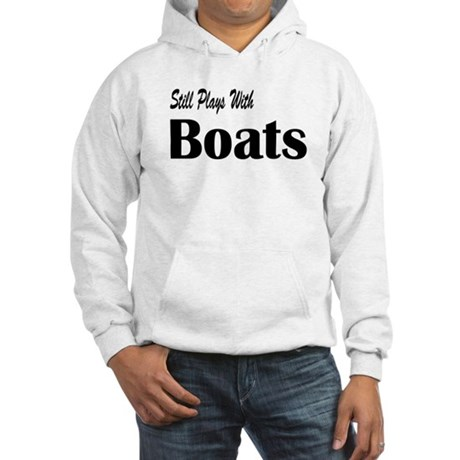 Plays With Boats Hooded Sweatshirt