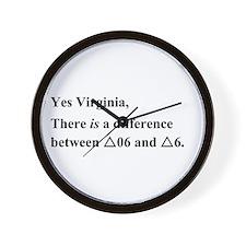 Yes Virginia... Wall Clock