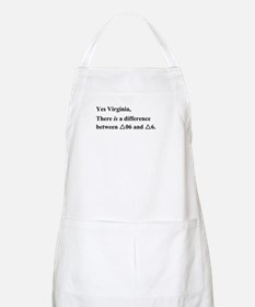 Yes Virginia... Apron