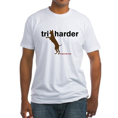 Tri Harder Fitted T-Shirt