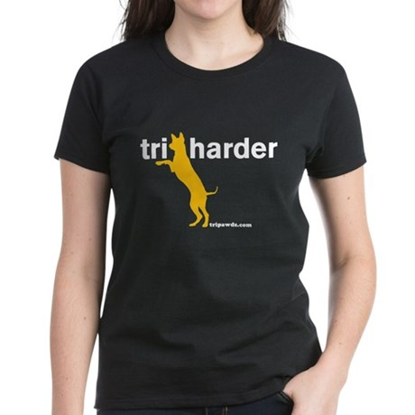 Tri Harder Women's Dark T-Shirt