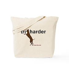 Tri Harder Tote Bag