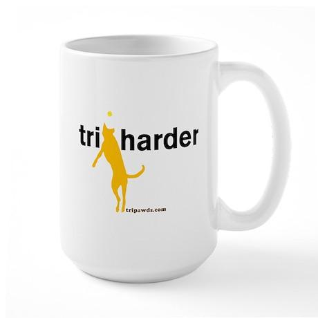 Tri Harder Large Mug