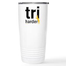 Tri Harder Travel Mug