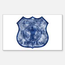 Proud Daughter - Airman Badge Decal