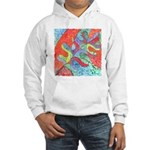 Multicolor Oak Leaf Art Hooded Sweatshirt