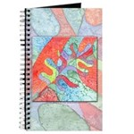 Multicolor Oak Leaf Art Journal