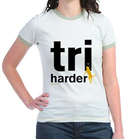 Tri Harder Jr. Ringer T-Shirt
