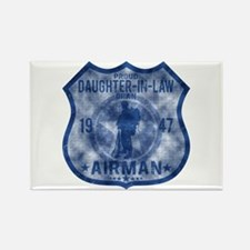 Proud Daughter-in-law - Airman Badge Rectangle Mag