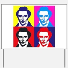 Joseph Smith Pop Art Yard Sign