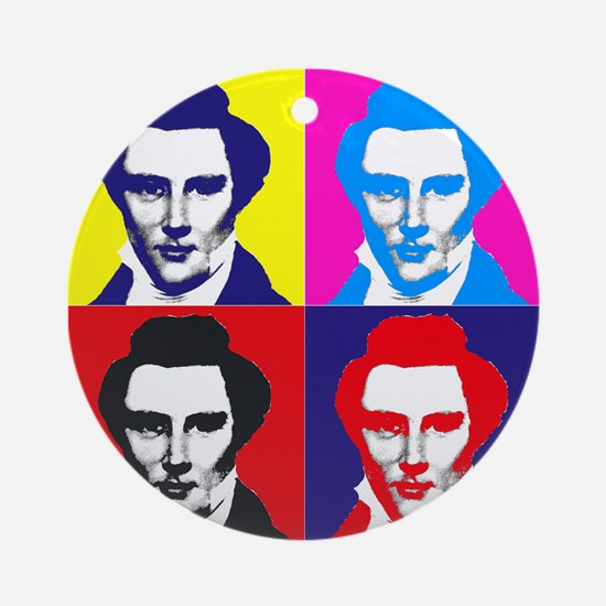 Joseph Smith Pop Art Ornament (Round)