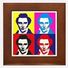 Joseph Smith Pop Art Framed Tile