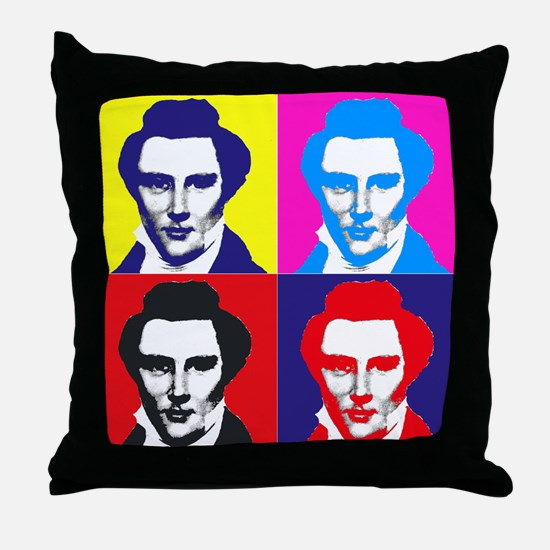 Joseph Smith Pop Art Throw Pillow